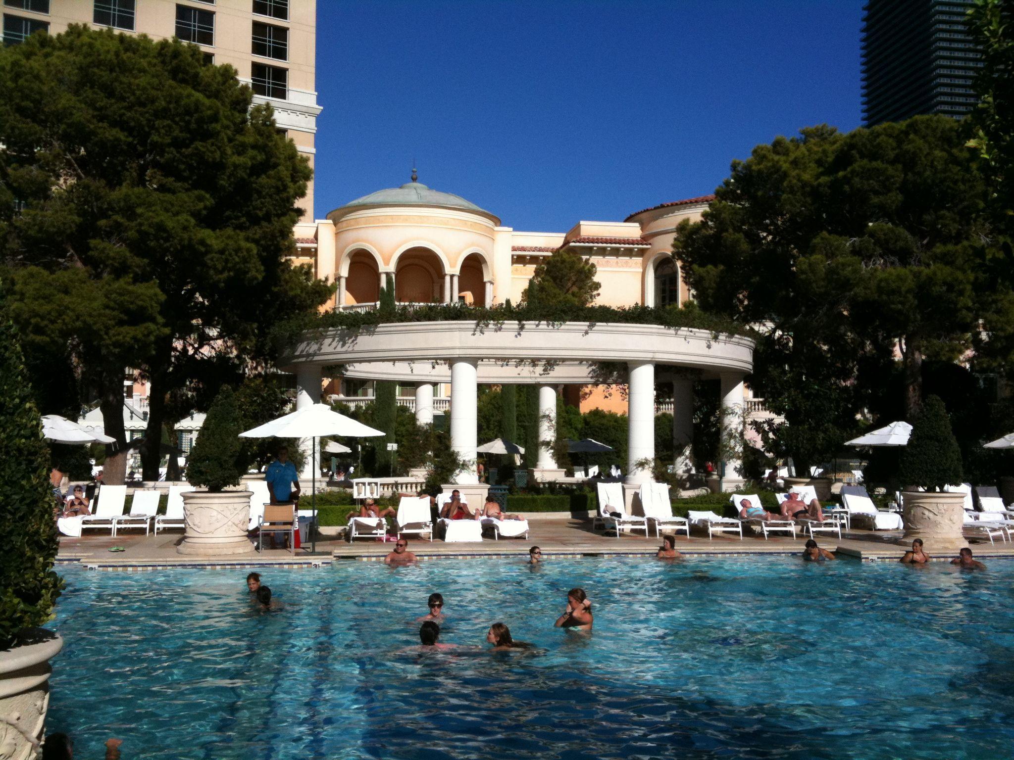 Vegas Pools Bellagio Cabana Pergola Pictures Vegas Pools Pergola On The Roof