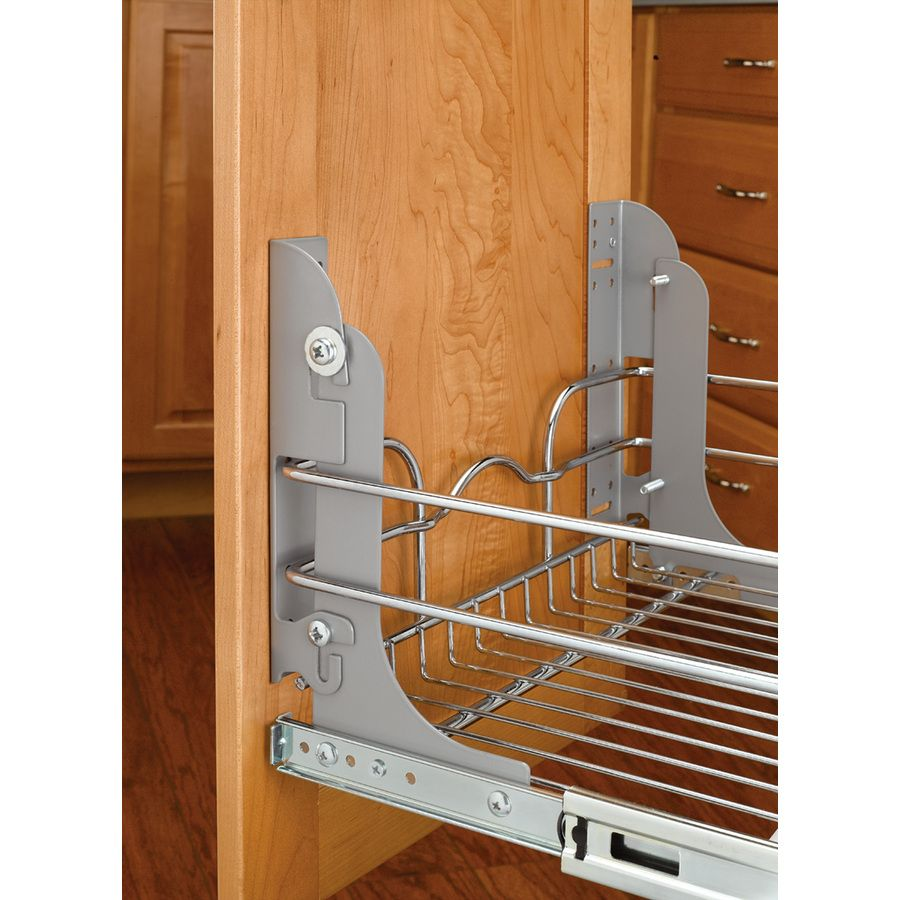 Shop Rev A Shelf Pull Out Trash Can Mounting Kit At Lowes Com For