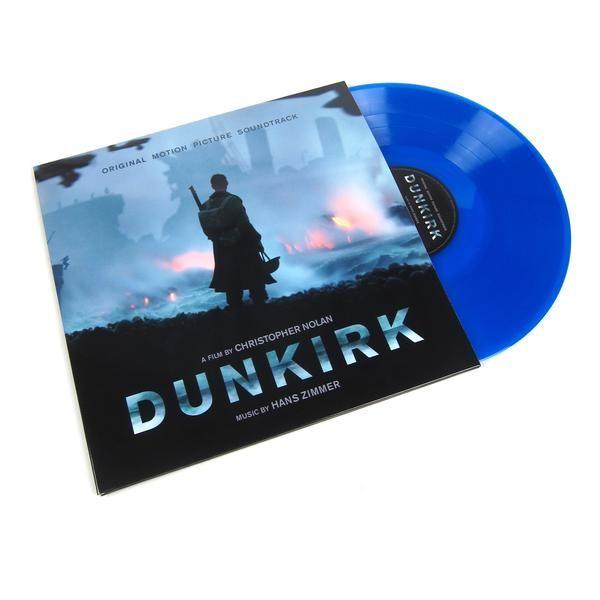 Hans Zimmer Dunkirk Soundtrack Music On Vinyl 180g Colored Vinyl Vinyl 2lp Soundtrack Music Dunkirk Vinyl Music