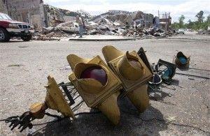 Tornado Damage in Cullman, AL.