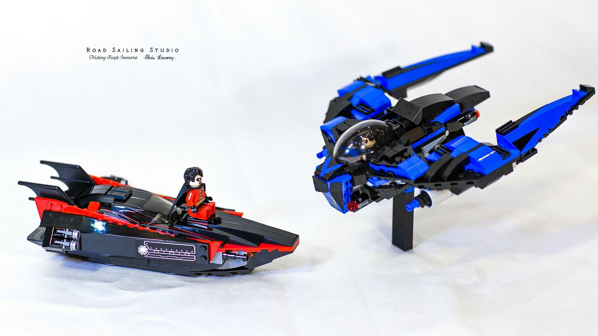 Lego Batman MOC Nightwing submarine (76079) | Pinterest ...