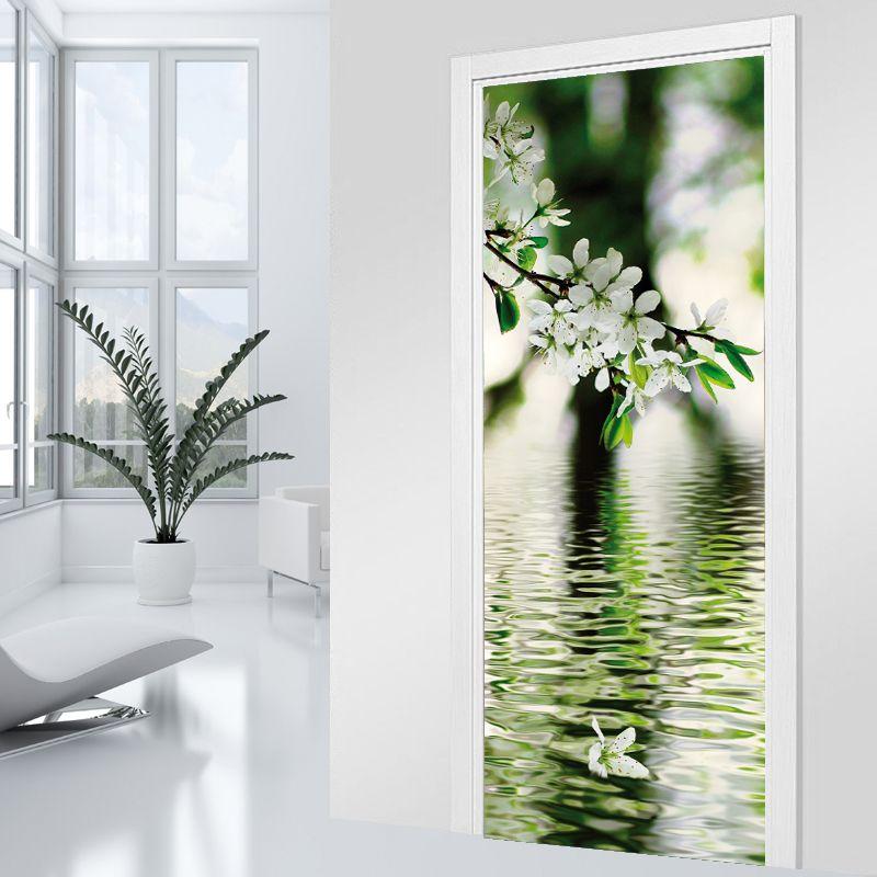 Adesivo Per Porte Ramo Zen Door Mural Pinterest Feng Shui - Poster porte