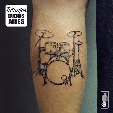 La Musica Tambien Esta En Piel Tattoo Tatuajes TatuajesBuenosAires