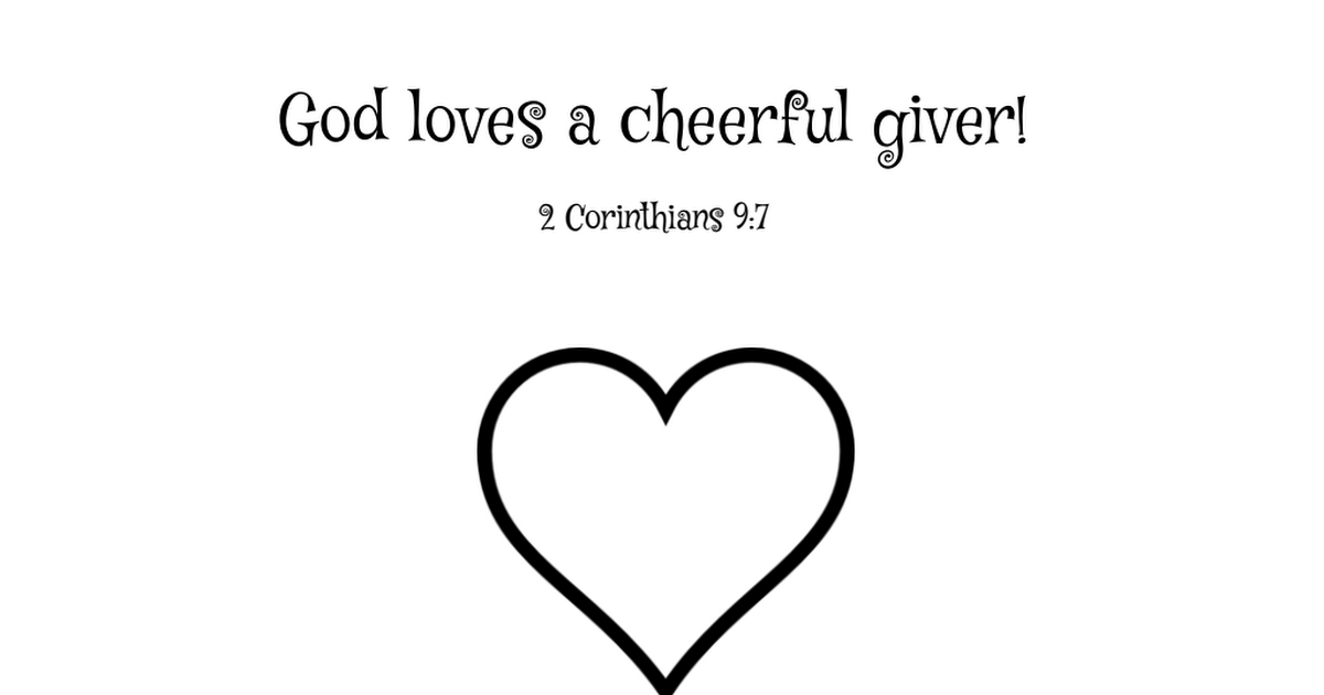 Mark 12:41-44; Luke 21:1-4: The Widow's Gift; Cheerful ...