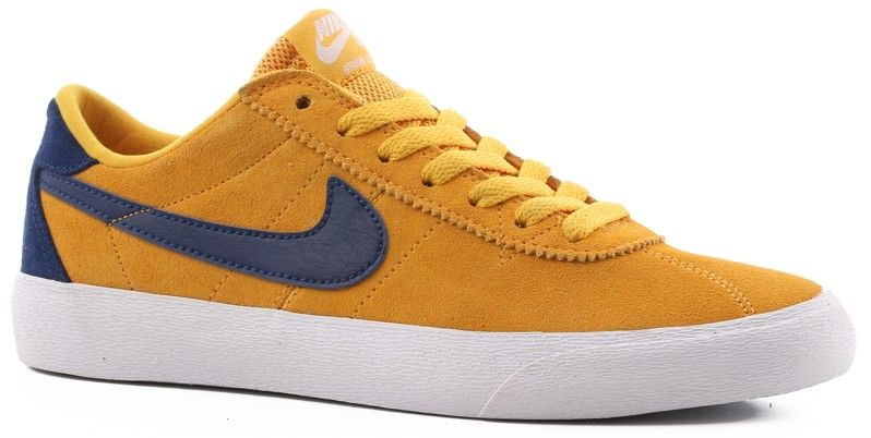 87f65a6e1ef9 Nike SB Women s Bruin Low Shoes yellow ochre blue void-white - Free Shipping