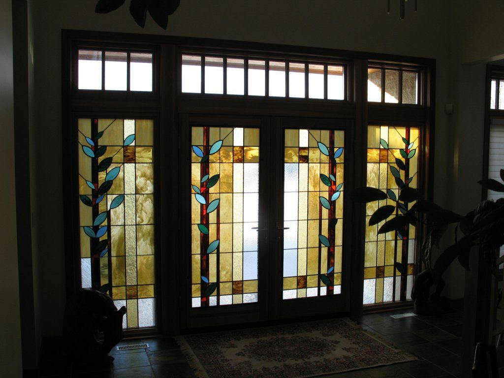 Interior Bifold Stained Glass Closet Doors   Yahoo Image Search Results