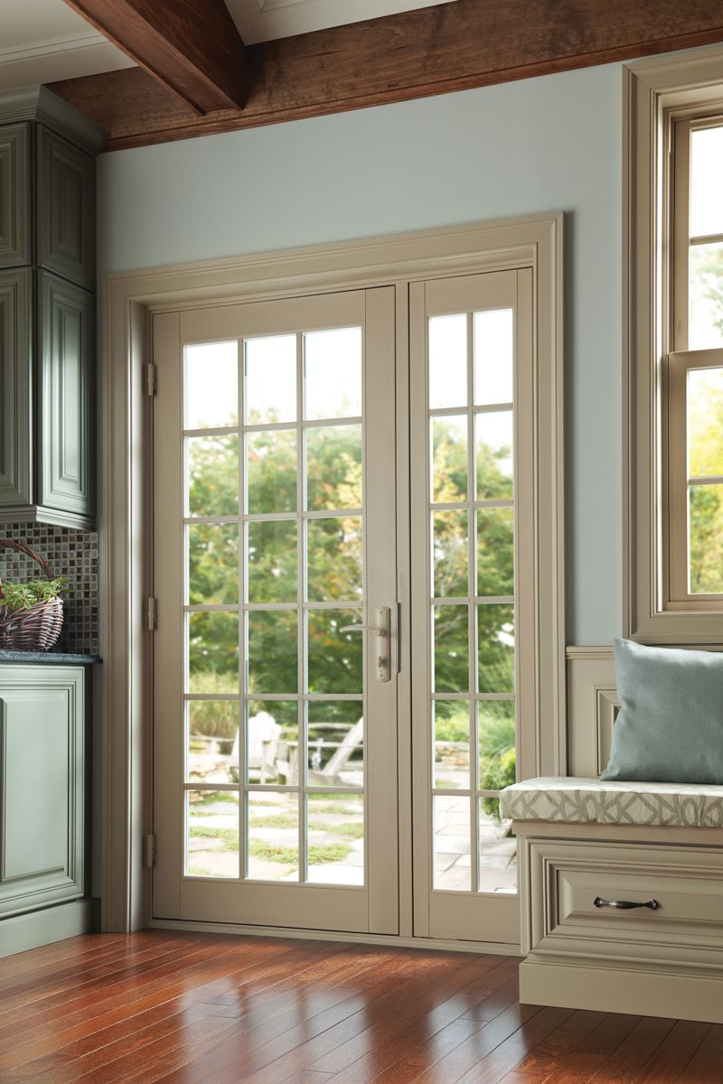 Tuscany Series single pane in-swing patio door with ...
