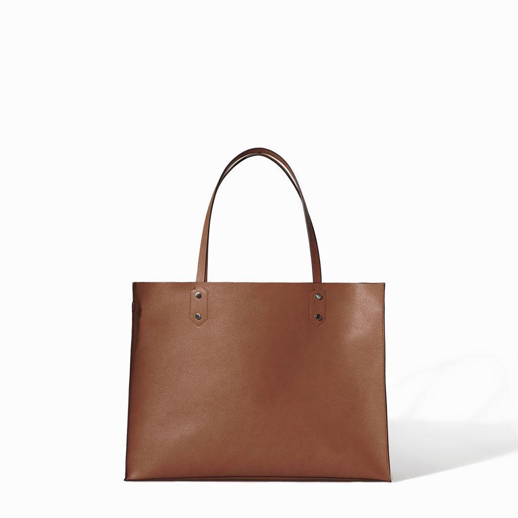 Pin Von Abigail Wolfendale Auf Fashion Style Shopper Tasche Taschen Zara