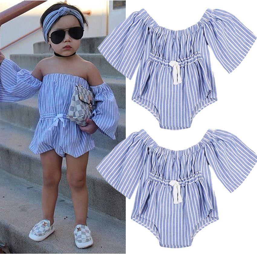 b5bb5d22aee5 Newborn Infant Kids Baby Girl Romper Bodysuit Jumpsuit Playsuit Clothes  Outfits