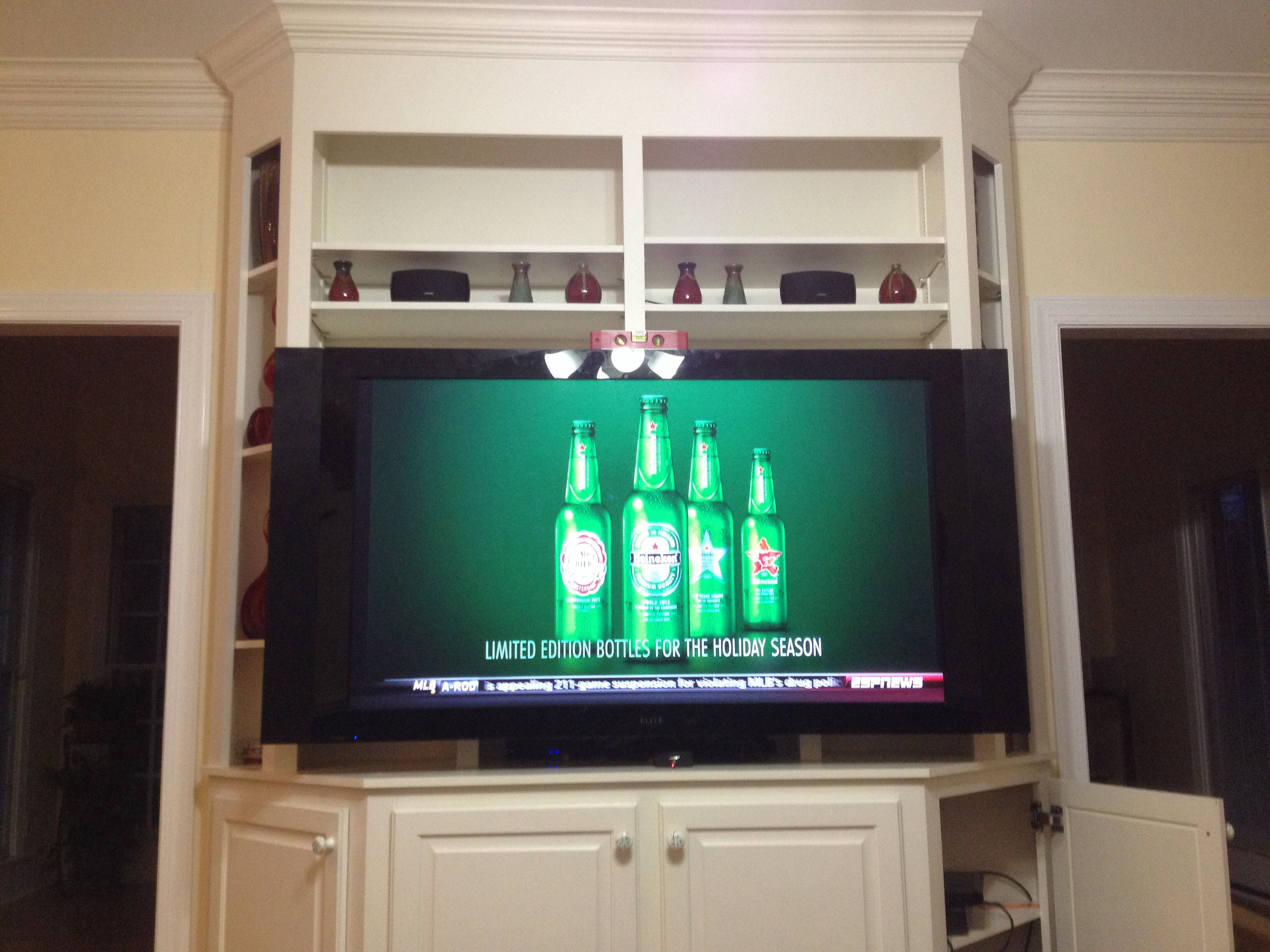 60 inch Pioneer Elite TV wall mounting service Charlotte Home ...