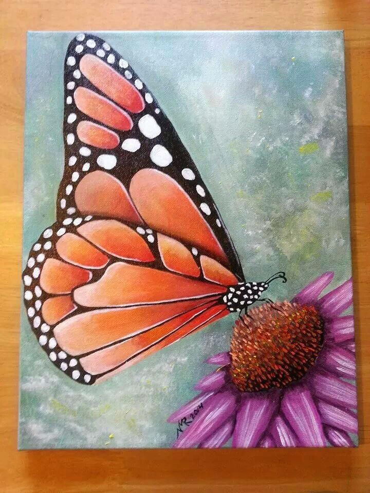 Image Result For Butterfly Acrylic Painting Butterfly Painting