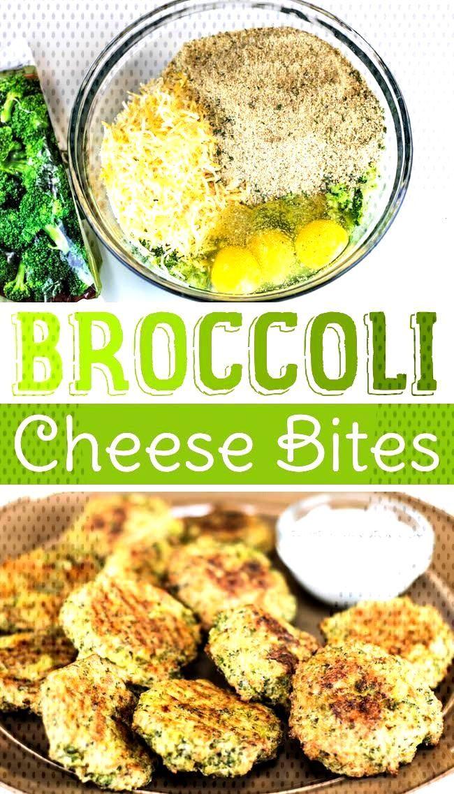 Broccoli Cheese Bites - Broccoli Cheese Bites — Awesome healthy snack idea for kids! (short vide