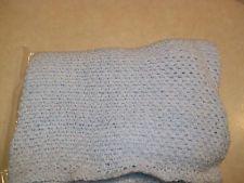 VT Handmade:  Infant's Light Blue Blanket