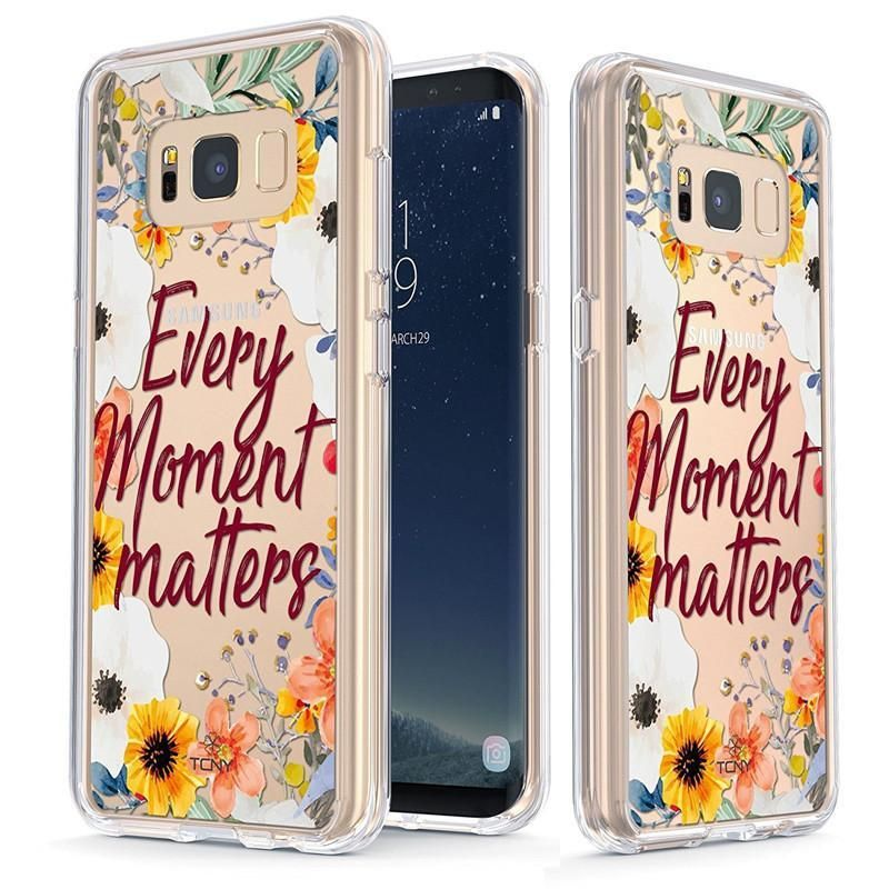 Every moment matters quotes slim protective case for