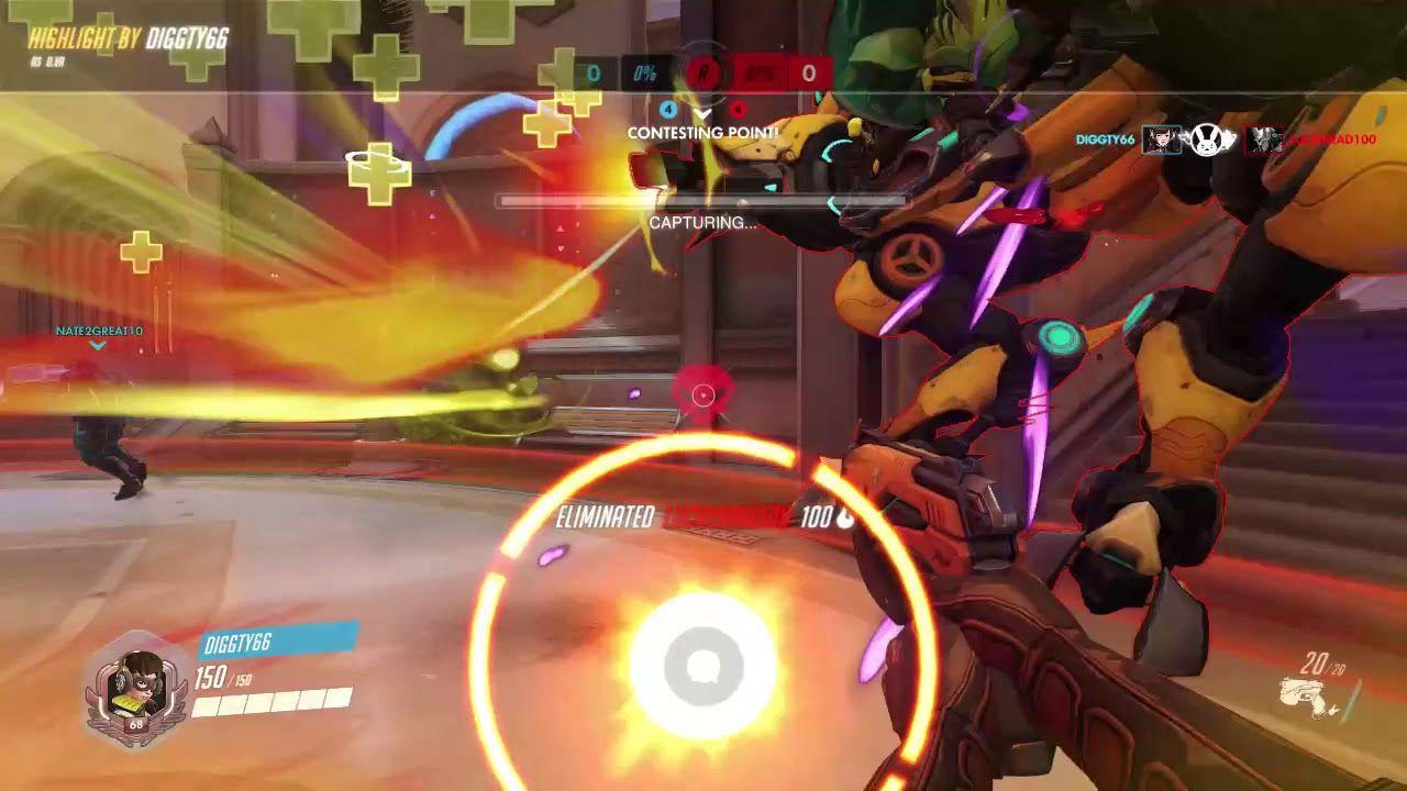 Overwatch Highlights: Death Blossom Triple Kill