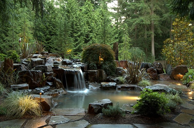 Natural Swimming Pools Design Ideas Inspirations Photos Natural Swimming Ponds Waterfalls Backyard Natural Swimming Pools