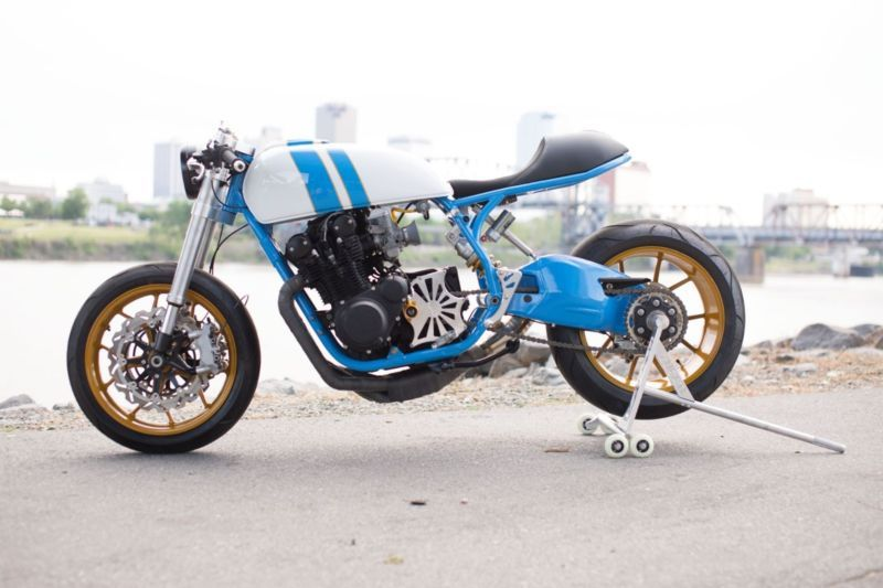 1978 Suzuki Gs750 Cafe Racer In 2020 With Images Cafe Racer