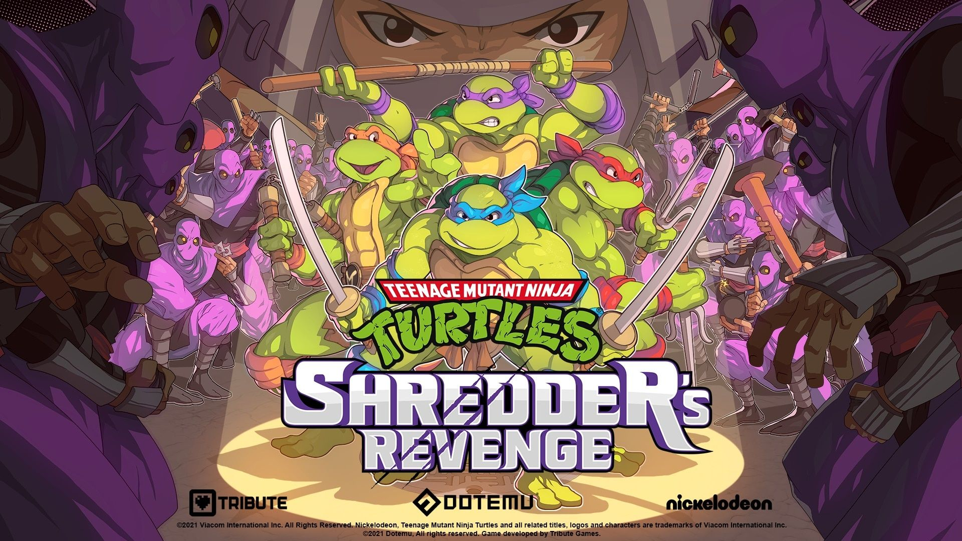 Radical Side Scrolling Brawler Teenage Mutant Ninja Turtles Shredder S Revenge Announced By Dotemu And Tribute Games Coming To Pc And Consoles In 2021 Teenage Mutant Ninja Turtles Teenage Mutant Ninja Teenage