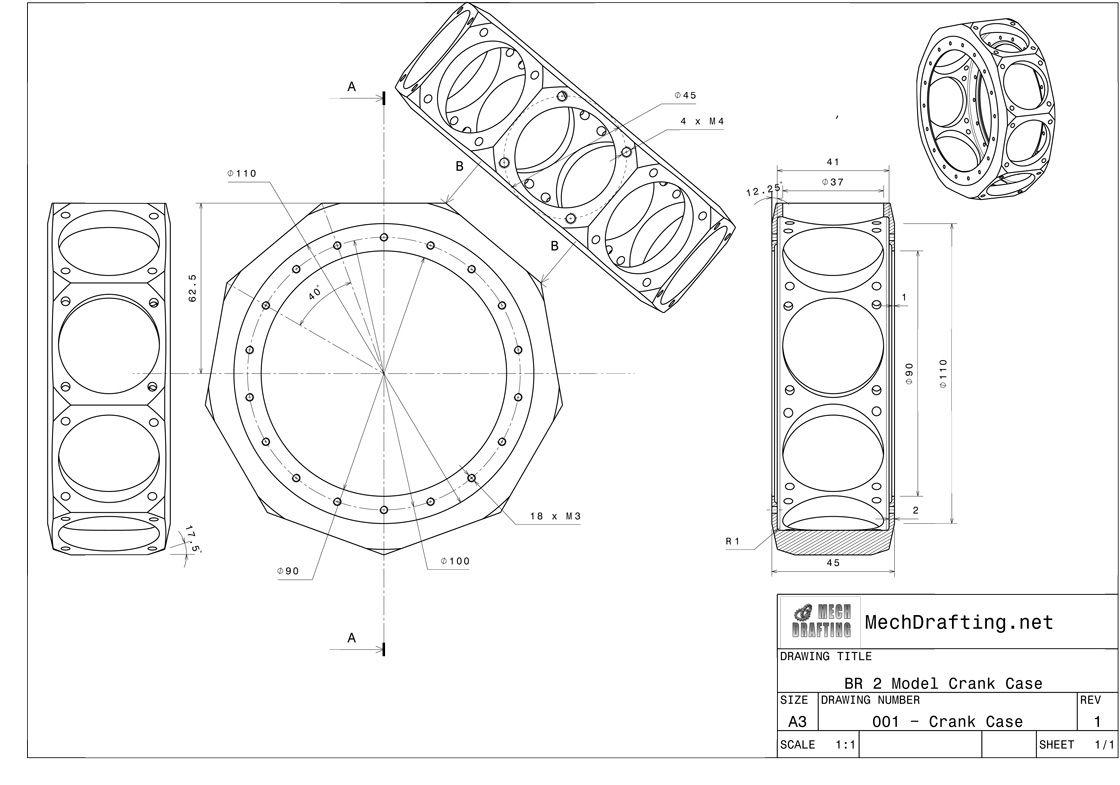9 Cylinder Radial Engine Plans