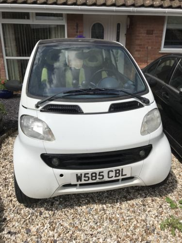 Smart Car Spares Or Repair With Brabus Accessories Uk Salvage Cars Pinterest And