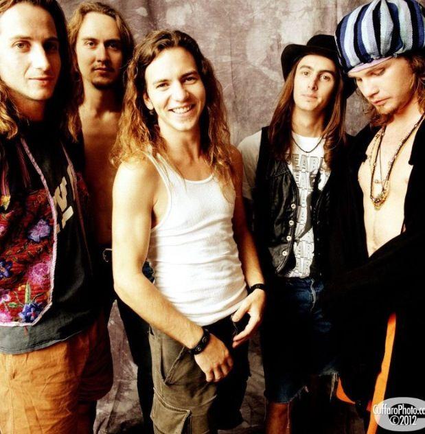 Pearl Jam 1992 Early beginnings! Stone Gossard - guitarist; Dave Krusen - drummer; Eddie Vedder - vocalist; Mike McCready - guitarist; Jeff Ament - bassist