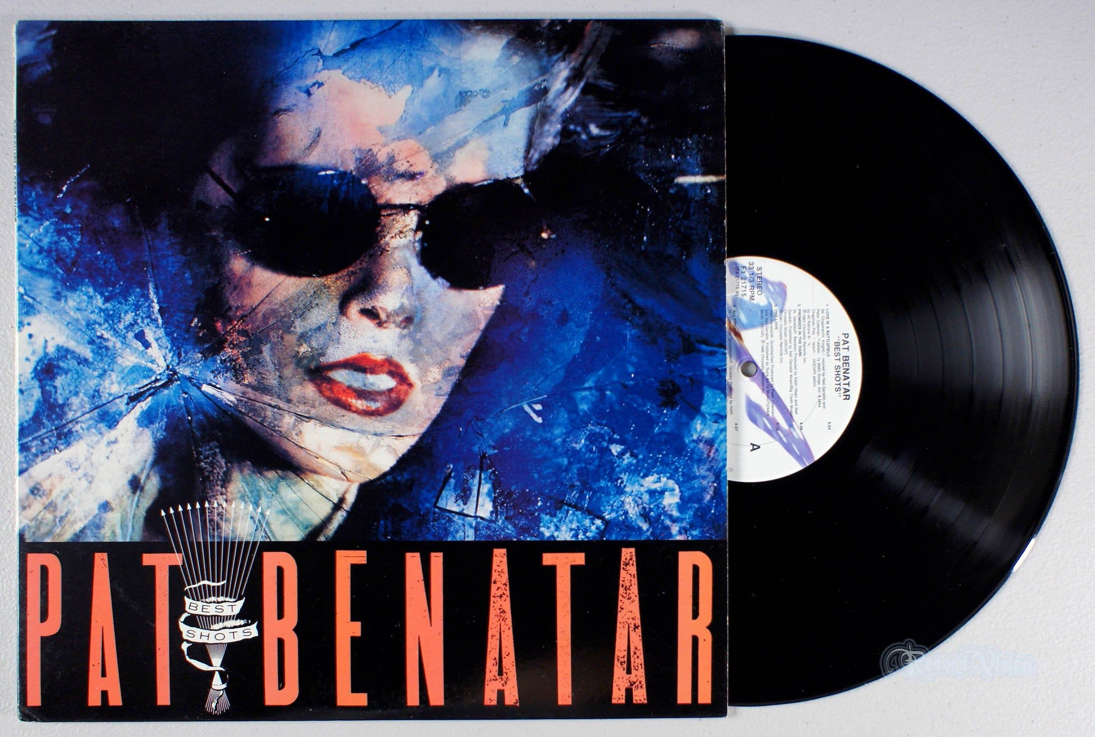Bestshots Is A Platinum Greatesthits Album By Patbenatar The Album Delivers Arenarock Staples One Right After T Vinyl Record Album Arena Rock Album Covers