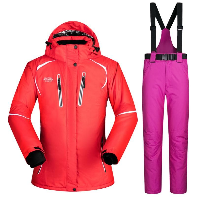 New Winter ski Suit Women Sets Windproof Breathable Waterproof Women Snow  Jacket and Pants Warm Clothes Set snowboard suits 68f84b036