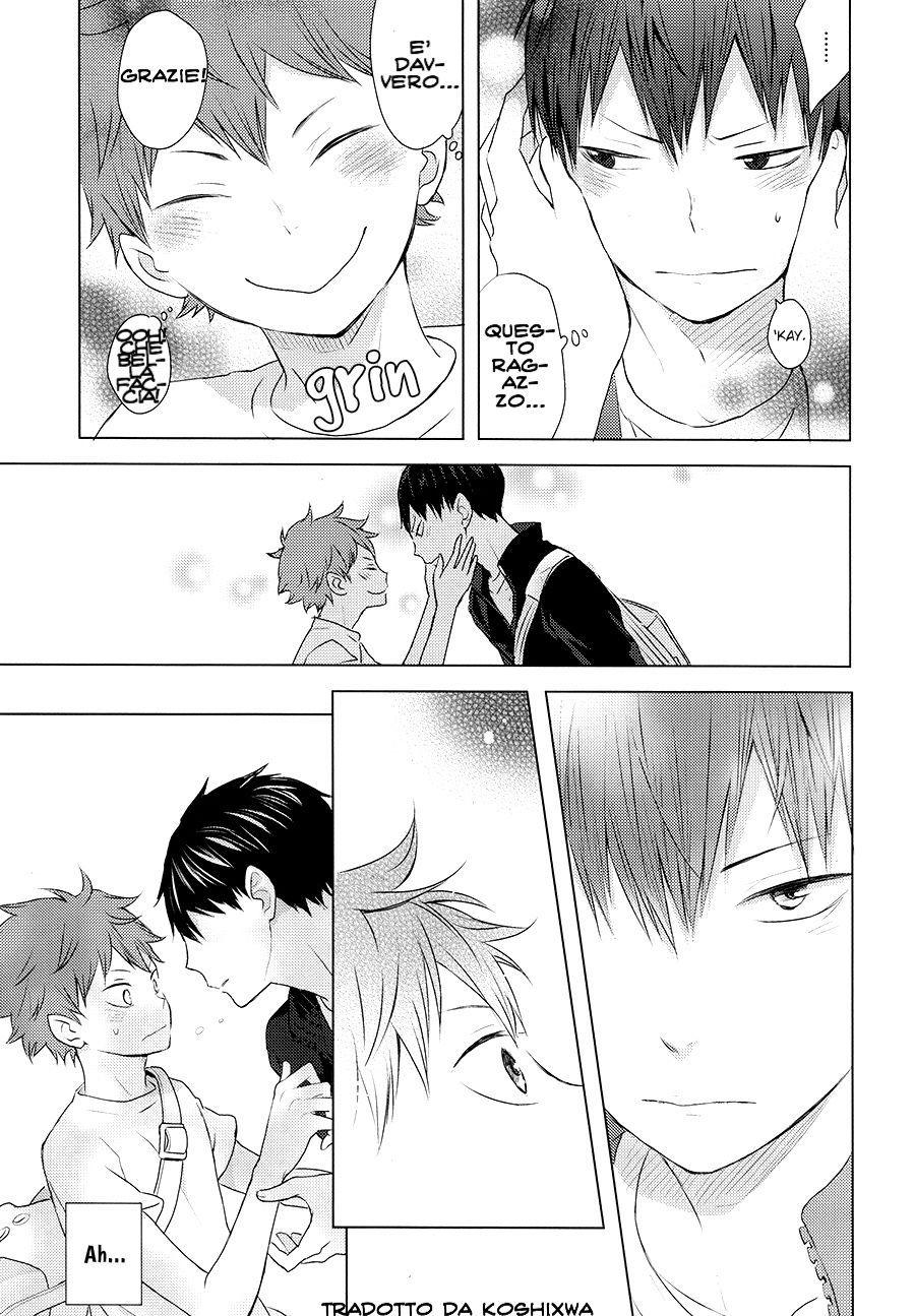 Pinky Promise With My Boyfriend The King [Haikyuu!! Doujinshi] ITA
