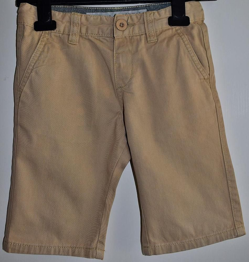 2d70305644 DENIM & CO Kids Boys Sand Beige Knee Length Casual Shorts Age 5-6 Years