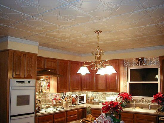 16 Decorative Ceiling Tiles For Kitchens Kitchen Photo Gallery Ceilings And