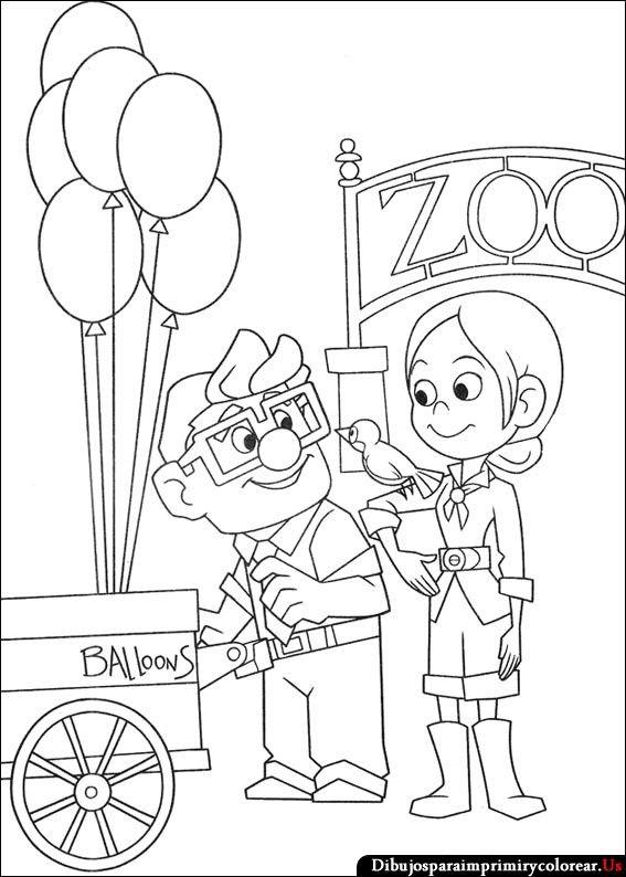 Dibujos De Up Una Aventura De Altura Para Imprimir Y Colorear Dibujos Tumblr Para Colorear Up Dibujos Dibujos Para Colorear