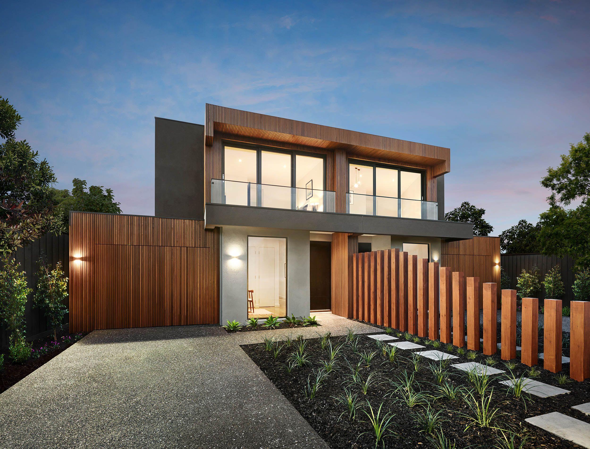 Amazing Custom Facade. ZweifamilienhausDuplex DesignHaus ...