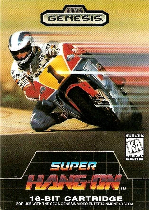 Super Hang-On (1988) | ->>> S-dream .CHld ``` | Retro ...