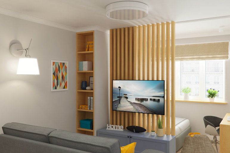 Гипсокартонная перегородка, стеклянные раздвижные двери или все-таки текстиль  вместе с профи рассказываем, как эффективнее зонировать пространство...