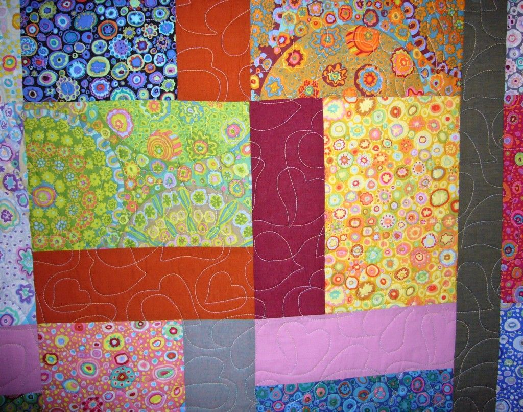 Kaffe fassett layer cake quilt with images quilts