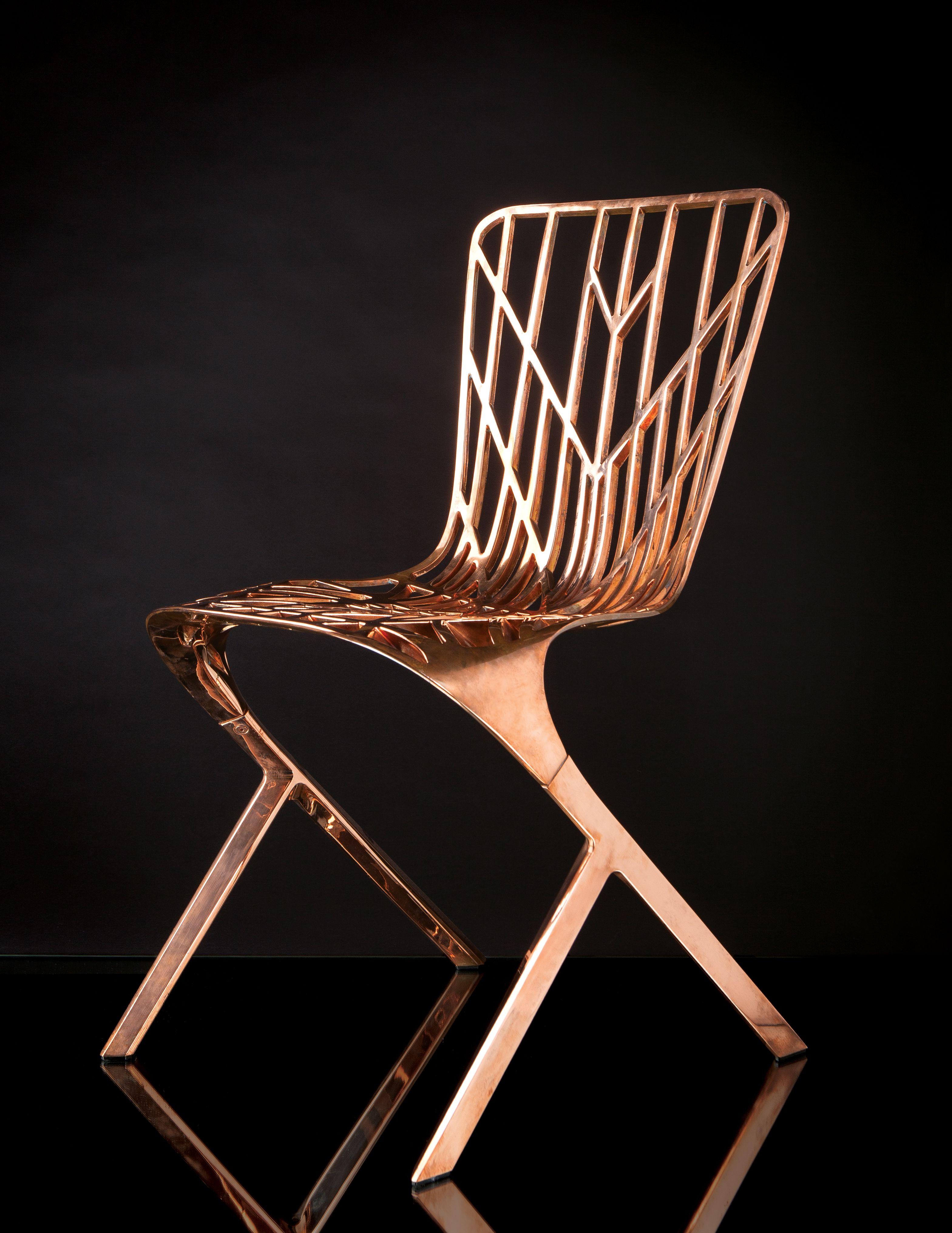 sculptural seating knoll washington skeleton chair from vertigo
