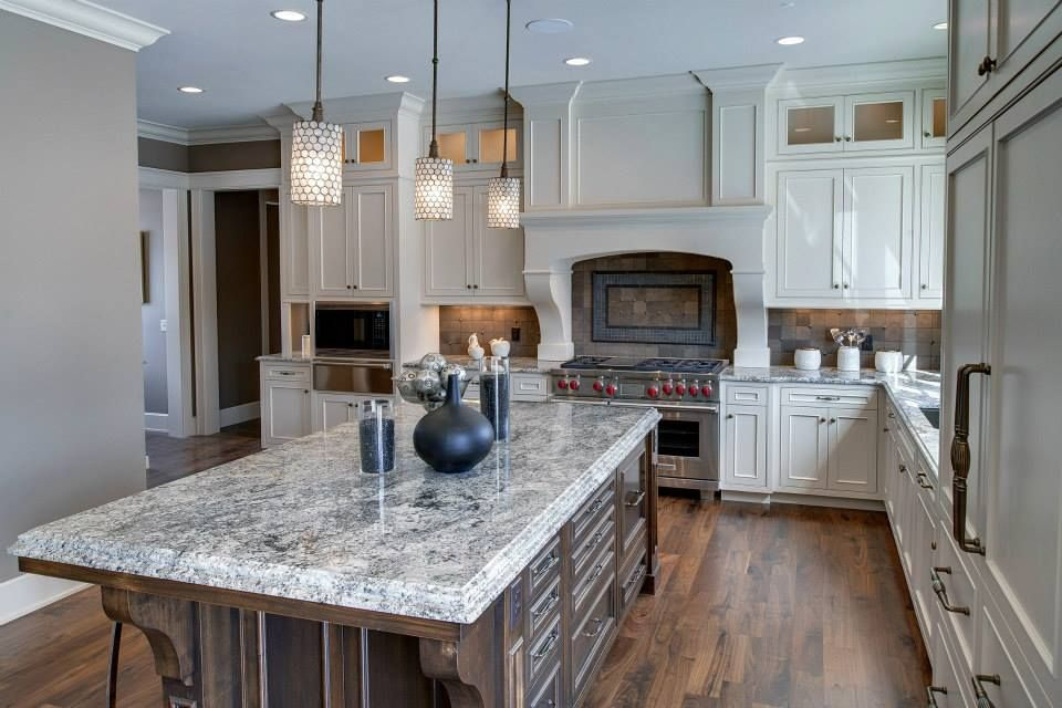 Ice Blue granite kitchen | Cozy kitchen, Kitchen remodel, Granite kitchen