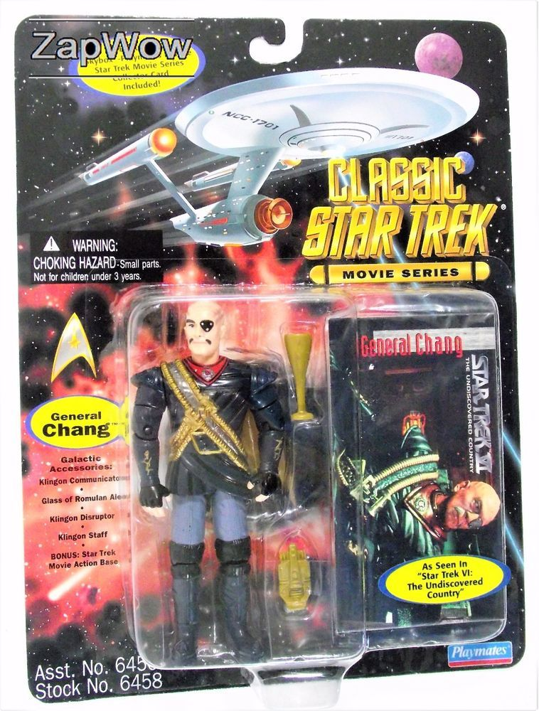 STAR TREK UNDISCOVERED COUNTRY-GENERAL CHANG- SK-110 *