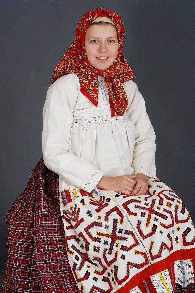 Русский народный костюм фото женский