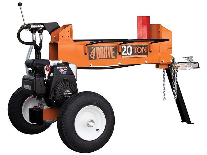 Brave 20 Ton Two Way Horizontal Log Splitter Pcls2016gc Log Splitter Horizontal Hydraulic Systems