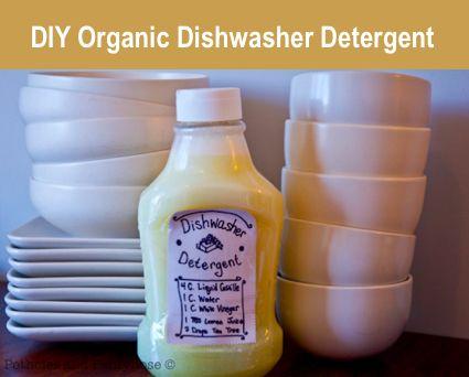 How To Make Organic Dishwasher Detergent Organic Dishwasher Detergent Homemade Dishwasher Detergent Dishwasher Detergent