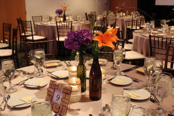 Astounding Wine Bottle Centerpieces For Weddings Photos - Best ...