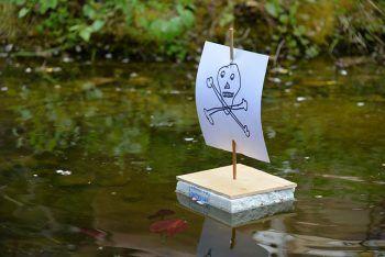 Schatzsuche, rasante Schifffahrten und Basteleinheiten: Beim #Kindergeburtstag unter dem Motto #Piraten gibt´s jede Menge Möglichkeiten, um die Kinder bei Laune zu halten!