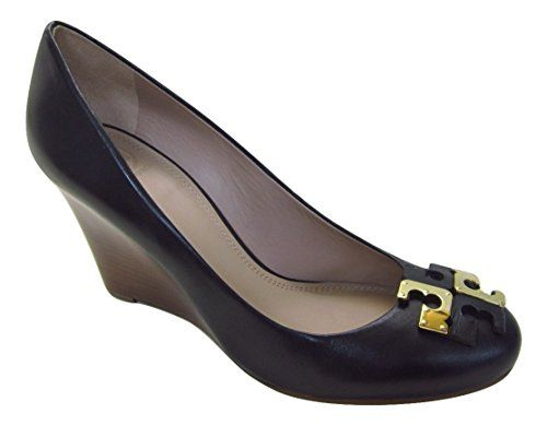 1a6b51680 Tory Burch Lowell 85MM Wedge Leather Pumps 10 Black  3 Locate the offer  simply by clicking the image