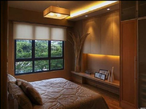 Very Cool Modern Contemporary Bedroom Lighting Idea Richard Marton Electrical Contractor Can Small Master Bedroom Small Bedroom Interior Small Modern Bedroom