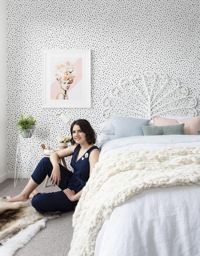 ▷ 1001 + idées et astuces pour décorer sa chambre à coucher avec un - papier peint pour chambre a coucher