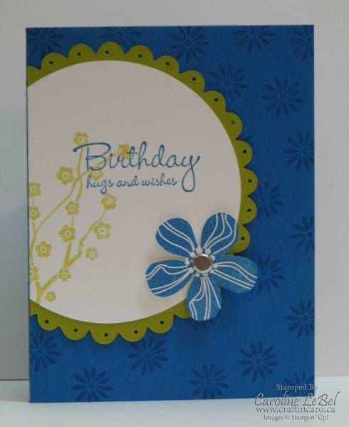 Eastern Blooms Birthday Class cards (SUO)
