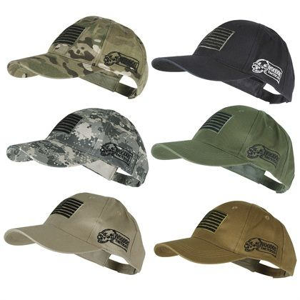 Voodoo Tactical 20-9353 Contractor Baseball Cap w  Sewn on Flag ... d10baaed0652