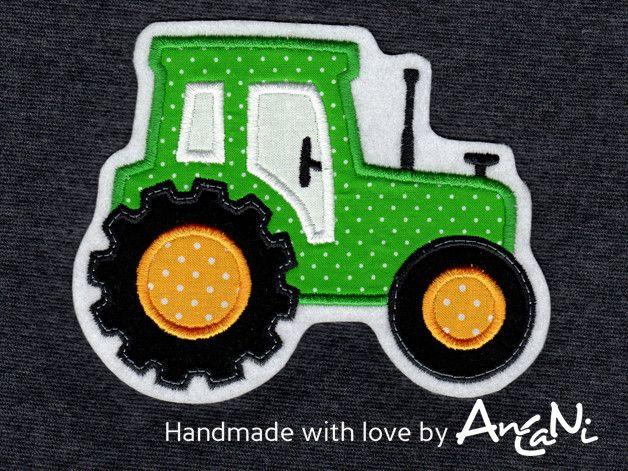 Aufnaher Traktor Applikation Trecker Xxl Bauer Von Ancani Auf Dawanda Com Applikationen Sticken Trecker