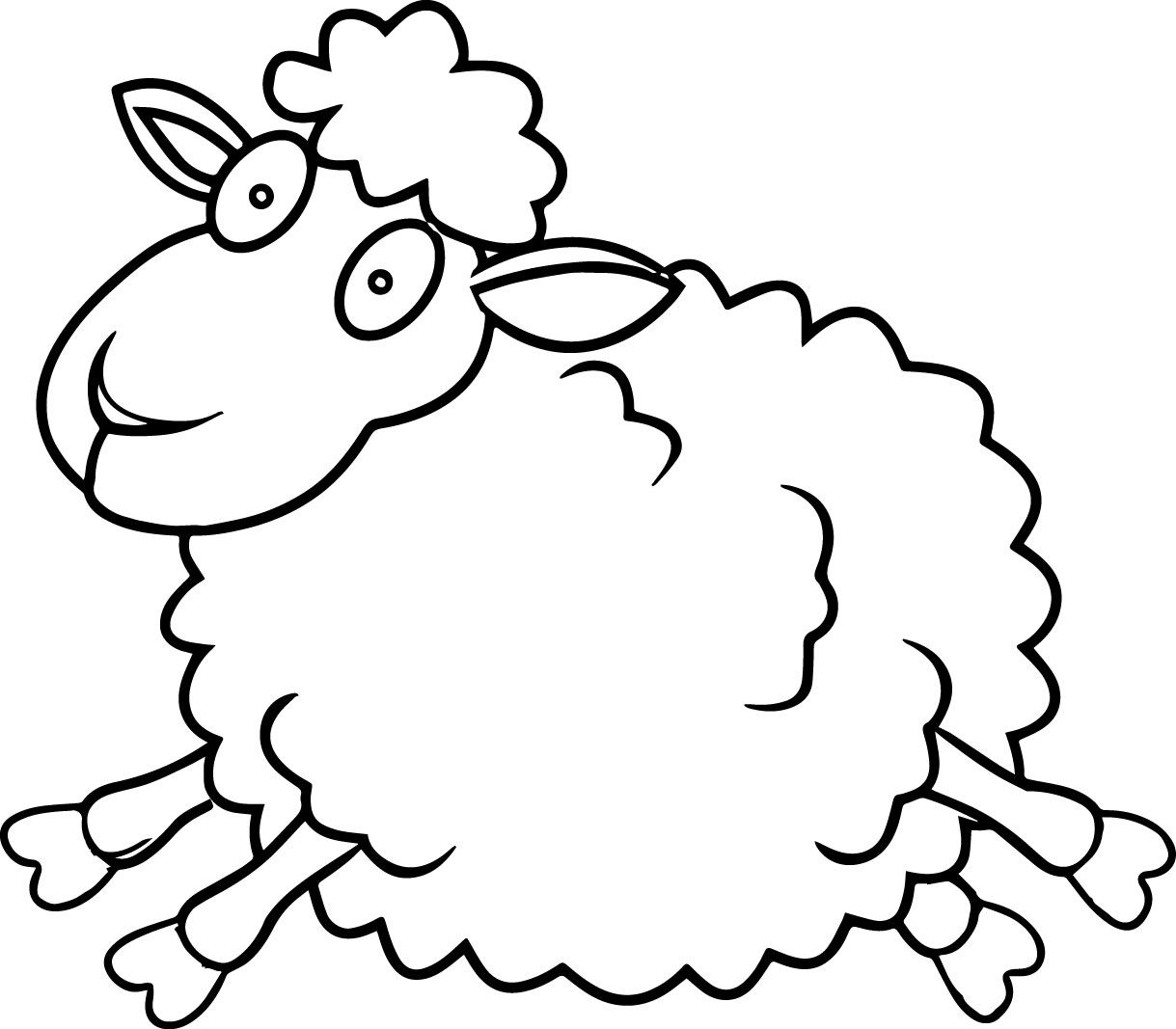 awesome sheep coloring pages wecoloringpage pinterest